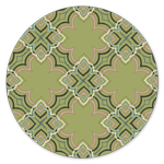 AH-220 Alhambra Tiles Green