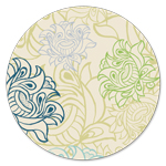 AH-326 Arabesque Wallpaper Ivory