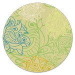 AH-426 Arabesque Wallpaper Green