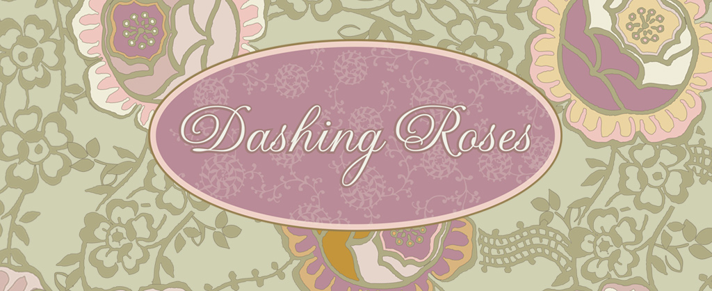 Dashing Roses by Pat Bravo