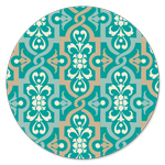 FR-5065 Turquoise Ornaments