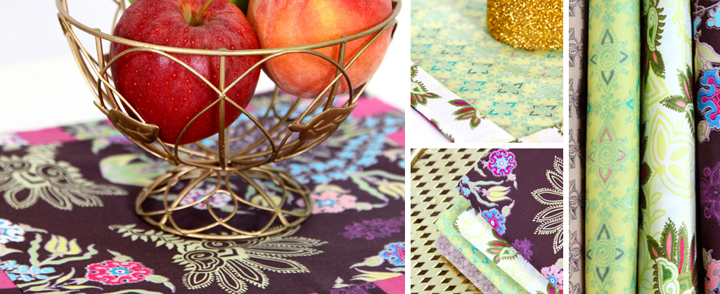 Memories From Kandesh Placemats & Fabric