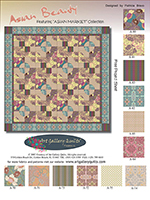 Asian Beauty Quilt by Pat Bravo