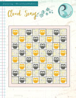 Cloud Song Free Quilt Pattern by Pat Bravo