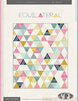 Equilateral Free Quilt Pattern by Pat Bravo