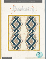 Basketry Free Quilt Pattern by Pat Bravo