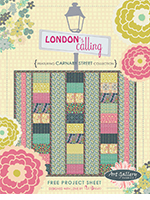 London's Calling Free Quilt Pattern by Pat Bravo