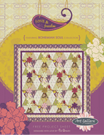Love & Freedom Quilt Project by Pat Bravo