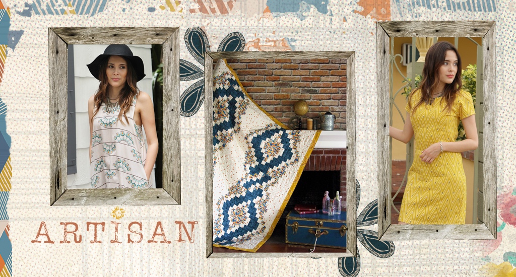 Artisan Fabric Collection.