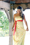 Bohemian Soul Maxi Dress Yellow