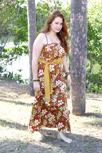Bohemian Soul Maxi Dress Brown