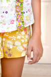 Bohemian Soul Shorts Close-Up