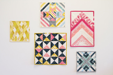Essentials mini Quilts