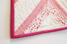 Essentials Quilt close up