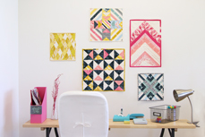 Essentials mini Quilt wall