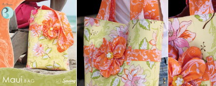 Maui Bag Pattern by Pat Bravo