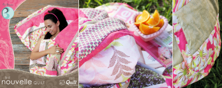 Nouvelle Quilt Pattern by Pat Bravo
