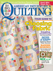 American Patchwork and Quilting June 2015 Cover