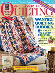 American Patchwork & Quilting April 2016