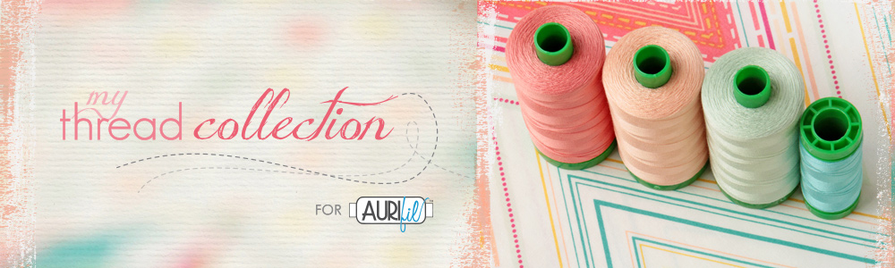 Pat Bravo's Thread Collection for Aurifil Threads