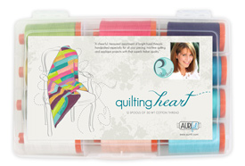 Quilting Heart Thread Kit by Aurifil
